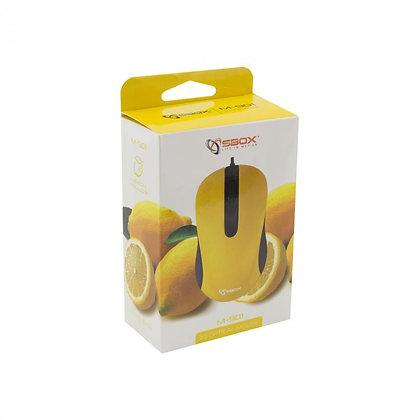 MOUSE SBOX M-901 Yellow