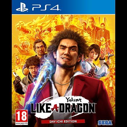 Yakuza Like a Dragon PS4 Game