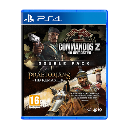 Commandos 2 & Praetorians HD Remaster Double Pack PS4