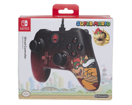 Nintendo Switch Wired Controller – Bowser