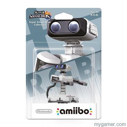 Amiibo Super Smash Bros R.O.B