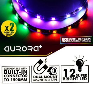ARMAGGEDDON ARGB LED STRIP NIMITZ AURORA PLUS 2x300mm