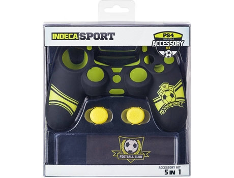 Indeca Sport PS4 Controller Accessory Kit