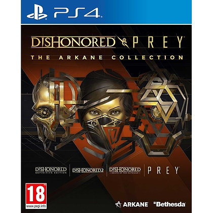 Dishonored & Prey The Arkane Collection PS4