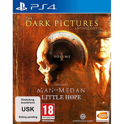 The Dark Pictures Anthology Volume 1 Limited Edition PS4