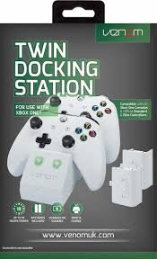 Venom Xbox One Twin Docking Station with 2 x Rechargeable Battery Packs