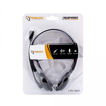 Headphone + Microphone HS-201