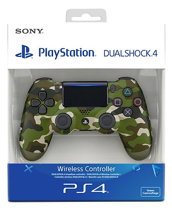 DUALSHOCK 4 Playstation Controller Green Camo