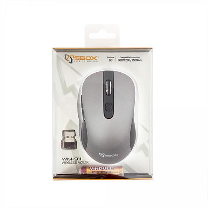 MOUSE WM-911 Silver / Wireless