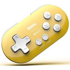 8Bitdo Zero 2 Yellow