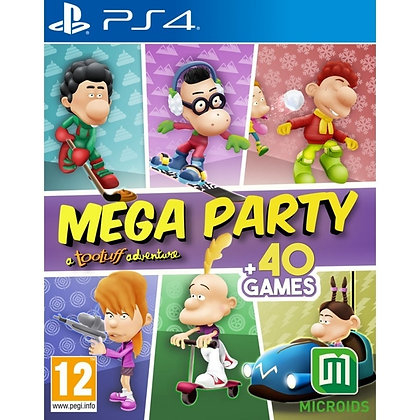 Mega Party a Tootuff Adventure PS4 Game