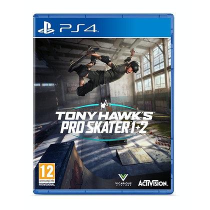 Tony Hawk's Pro Skater 1 + 2 PS4 Game