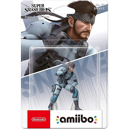 AMIIBO SUPER SMASH BROS SNAKE