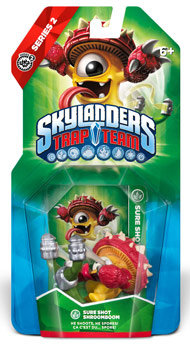 Skylanders Trap Team Sure Shot Shroomboom
