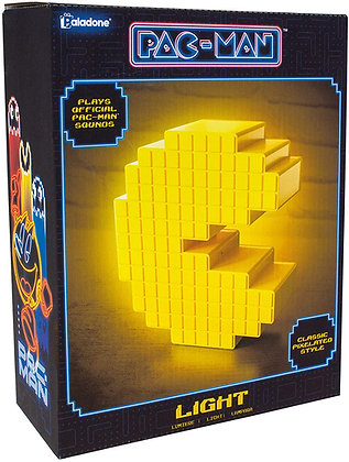 Pac-Man Pixelated Light
