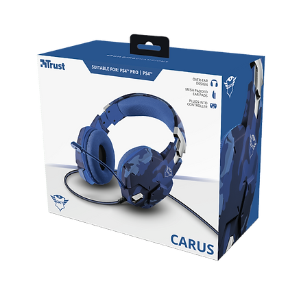GXT 322B Carus Gaming Headset for PS4