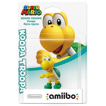 Amiibo Super Mario: Koopa Troopa
