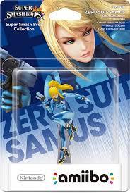 Amiibo Super Smash Bros Zero Suit Samus