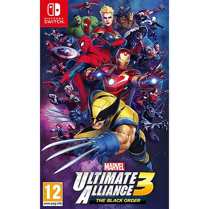 Marvel Ultimate Alliance 3 Black Order Nintendo