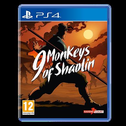 9 Monkeys of Shaolin PS4 Game