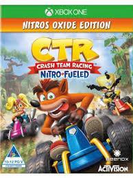 Crash Team Racing Nitro-Fueled Nitros Oxide Edition xb1