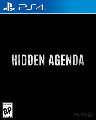 Hidden Agenda Ps4 11/17