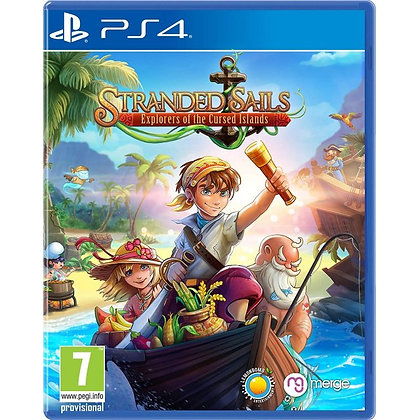 Stranded Sails Explorers of the Cursed Islands PS4