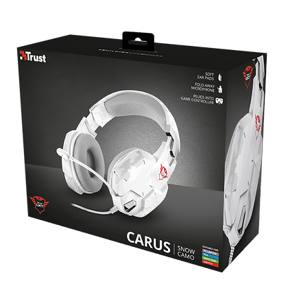 GXT 322W Carus Gaming Headset - snow camo