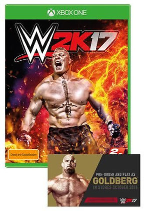 WWE 2k17(Includes The Goldberg Pack)