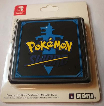 12 Slots Game Card Cartridge Storage Case Box Pokemon Sword