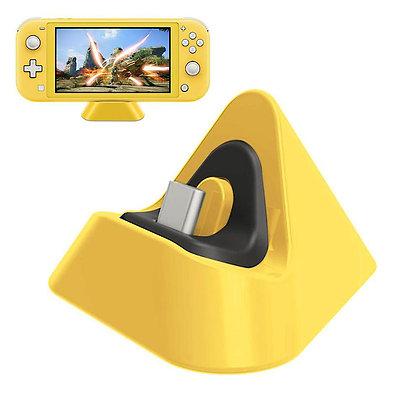 Nintendo Switch Lite Charging Dock Yellow