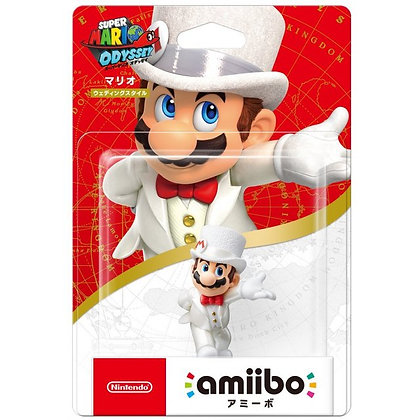 AMIIBO SUPER MARIO ODYSSEY SERIES Wedding MARIO