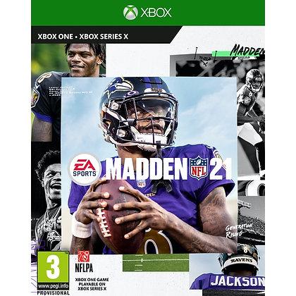 Madden 21 Xbox One Game (Pre-Order DLC Bonus)