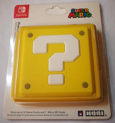 12 Slots Question Block Game Card Cartridge Storage Case Box