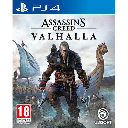 Assassin's Creed Valhalla PS4 Game (Pre-Order Bonus Mission DLC)