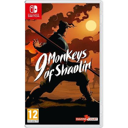9 Monkeys of Shaolin Nintendo Switch Game