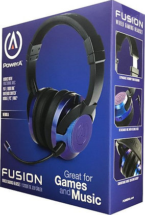 POWER A FUSION WIRED GAMING HEADSET NEBULA (PS4 / XBONE / SWITCH / PC)