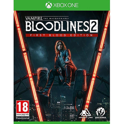 Vampire The Masquerade Bloodlines 2 Xbox One Game