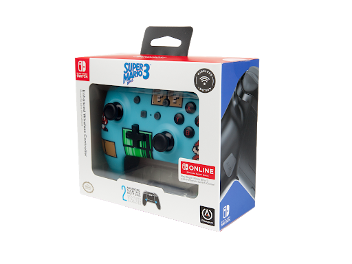 Enhanced Wireless Controller for Nintendo Switch – Super Mario Bros. 3