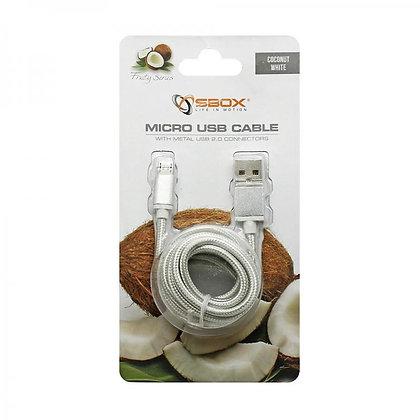 CABLE SBOX USB->MICRO USB M/M 1,5M Blister White