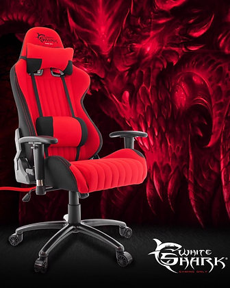 White Shark GAMING CHAIR RED DEVIL Red