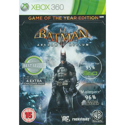 BATMAN: ARKHAM ASYLUM [GAME OF THE YEAR