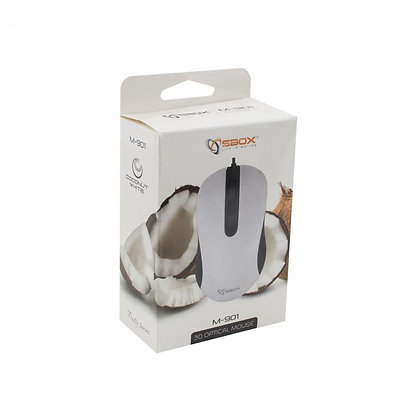MOUSE SBOX M-901 White