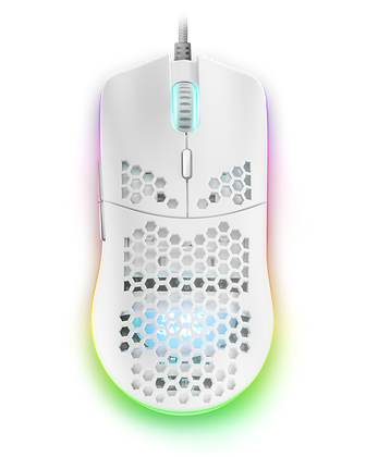 MMAX GAMING MOUSE WHITE