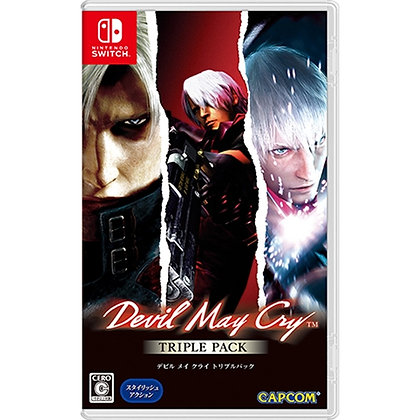 Devil May Cry Triple Pack 1,2,3 Nintendo
