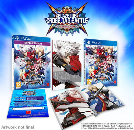 BlazBlue Cross Tag Battle Special Edition PS4