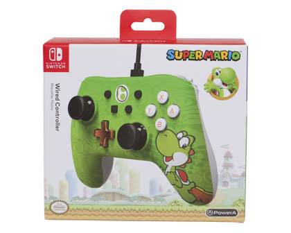 Nintendo Switch Wired Controller – Yoshi