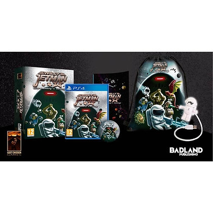 Willy Jetman Astromonkey's Revenge Sweeper Edition PS4 Game