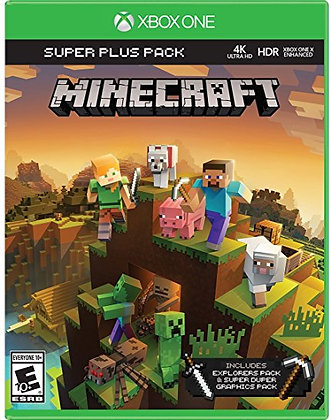 Minecraft Super Plus Pack Xb1 12/17