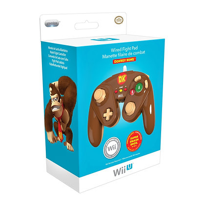Wired Fight Pad for Wii U - Donkey Kong